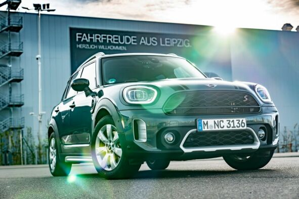 MINI Cooper S Countryman ALL4 in Leipzig (Quelle: BMW Group)